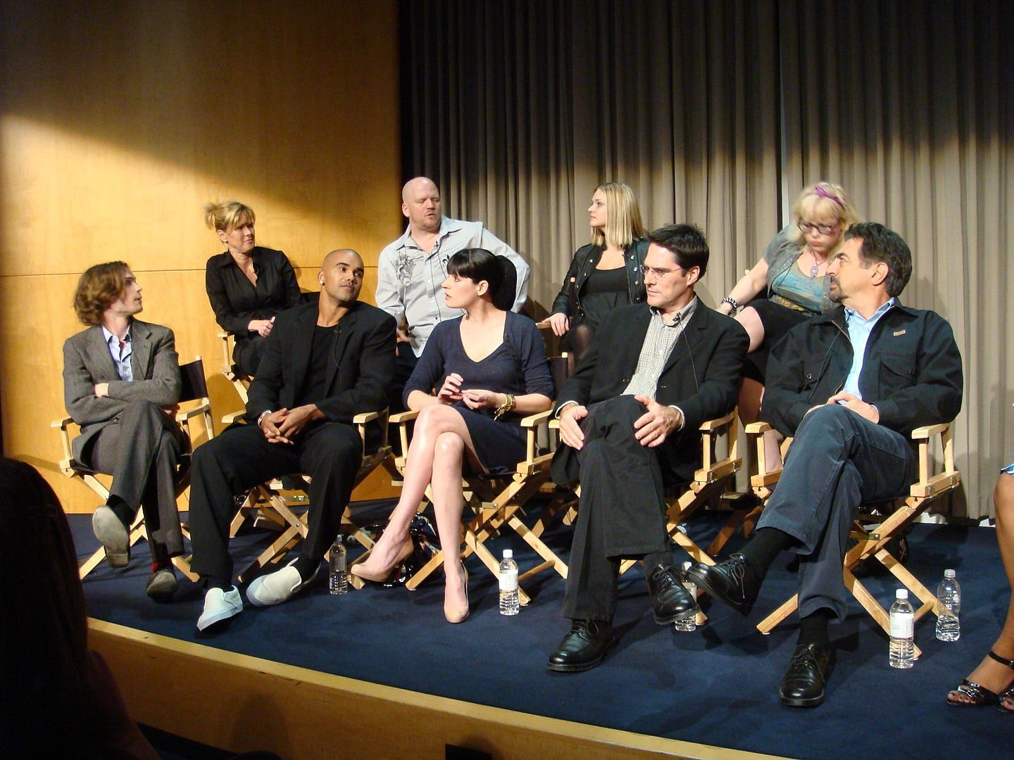 The cast of Criminal Minds at the Paley Centre,  November 2008. | Photo: Wikimedia Commons Images