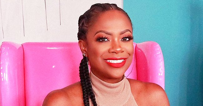 Kandi Burruss' Daughter Blaze Is a Chic Baby in Versace Outfit & Pink Headband in New Photo