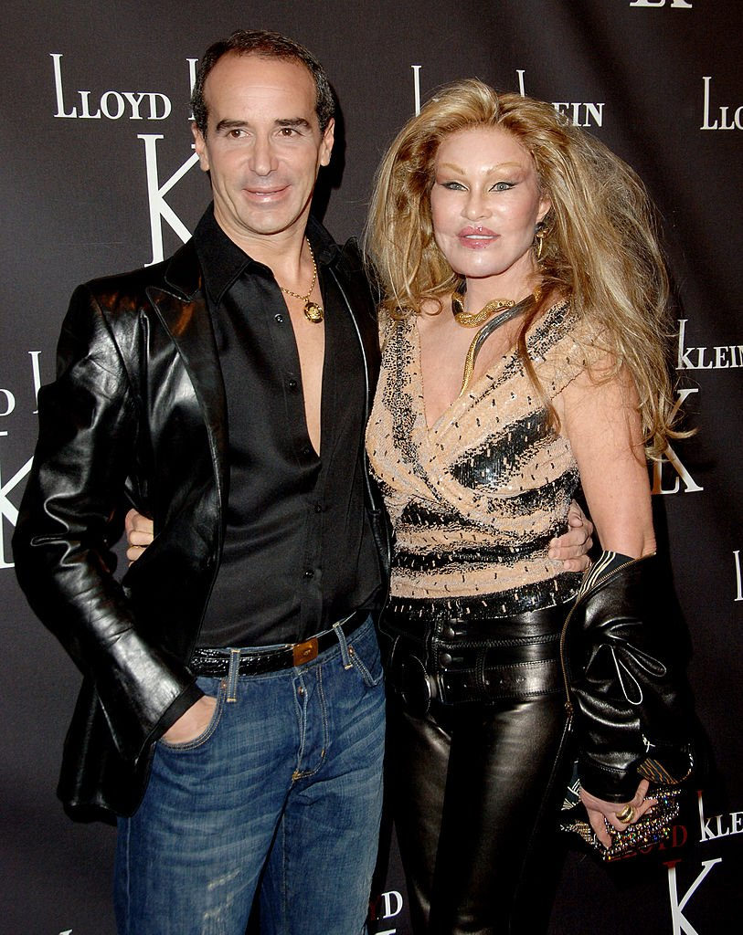 Lloyd Klein and Jocelyne Wildenstein during Lloyd Klein Flagship Store Opening - November 14, 2006 at Lloyd Klein Flagship Store in Los Angeles, California, United States. | Source: Getty Images