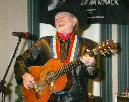 Willie Nelson performs January 15, 2002, in New York City. | Source: Getty Images.