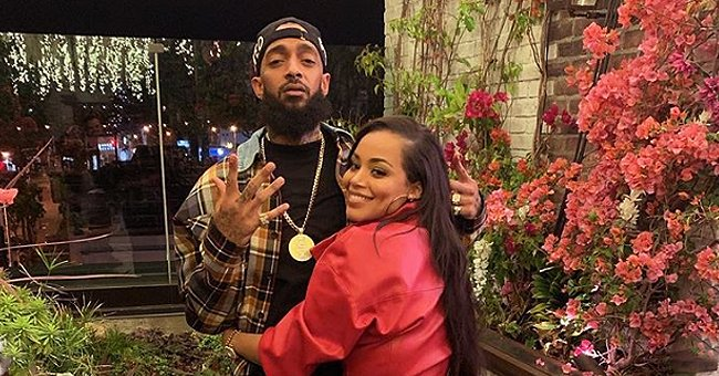 Nipsey Hussle's Girlfriend Lauren London Shares Photo of Son Kameron Carrying Baby Brother Kross