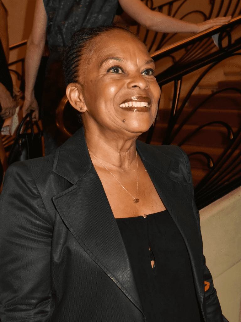 PARIS, FRANCE - 21 JUIN : Christiane Taubira assiste au 34ème Gala d'Amnesty International au Théâtre des Champs Elysées et à l'after Party à la Maison Blanche le 21 juin 2018 à Paris, France. | Photo : Getty Images