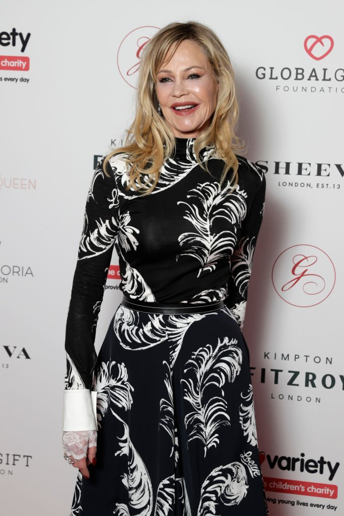 Melanie Griffiths attends the annual Global Gift Gala London at Kimpton Fitzroy Hotel | Photo: Getty Images