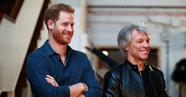 Prince Harry Teams up with Bon Jovi to Record a Song for the Invictus Games and Shares Brief Clip from Abbey Road Studios