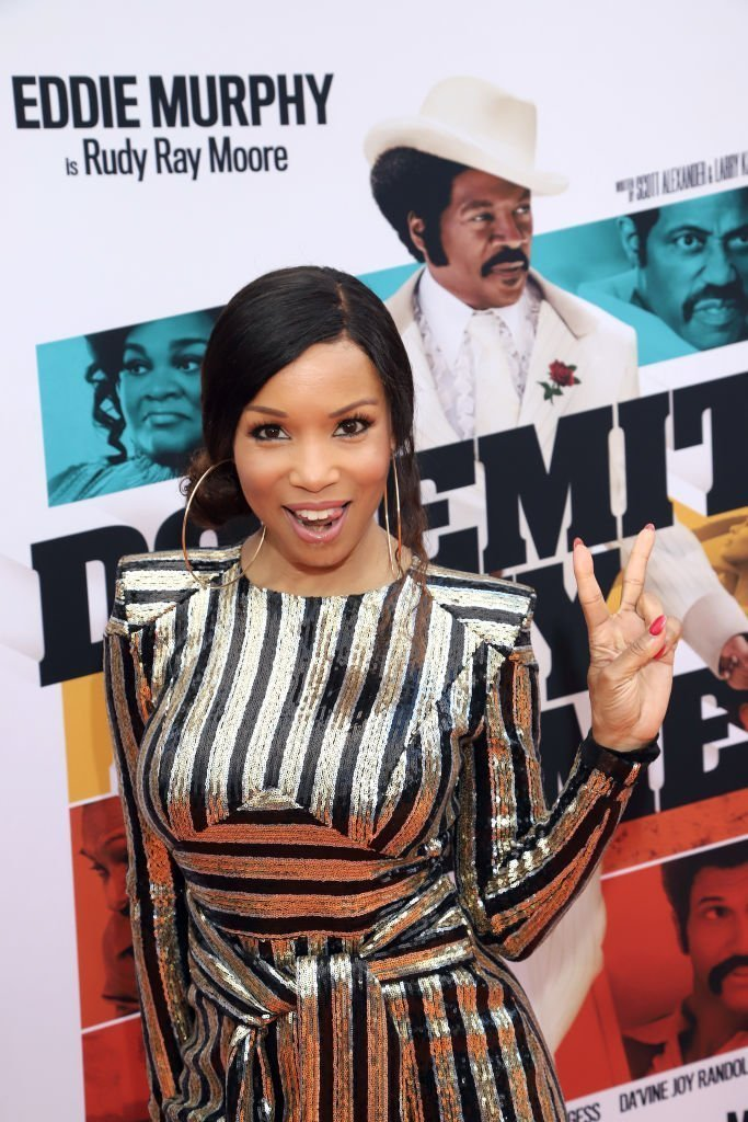 "Elise Neal attends the ""Dolemite Is My Name"" premiere presented by Netflix 