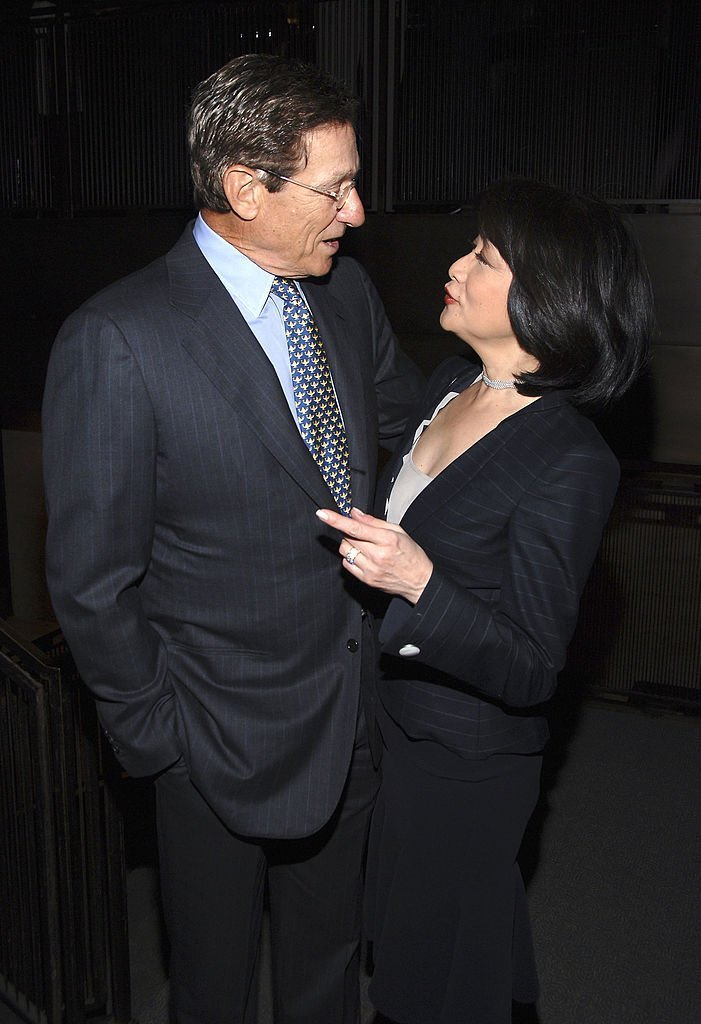 "Maury Povich and Connie Chung talk at a celebration for Jonathan Tisch's ""Chocolates On The Pillow Aren't Enough""  