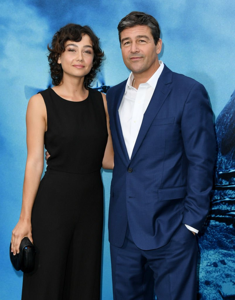 "Kyle Chandler and daughter Sydney Chandler at the Premiere of ""Godzilla: King Of The Monsters"" on May 18, 2019 