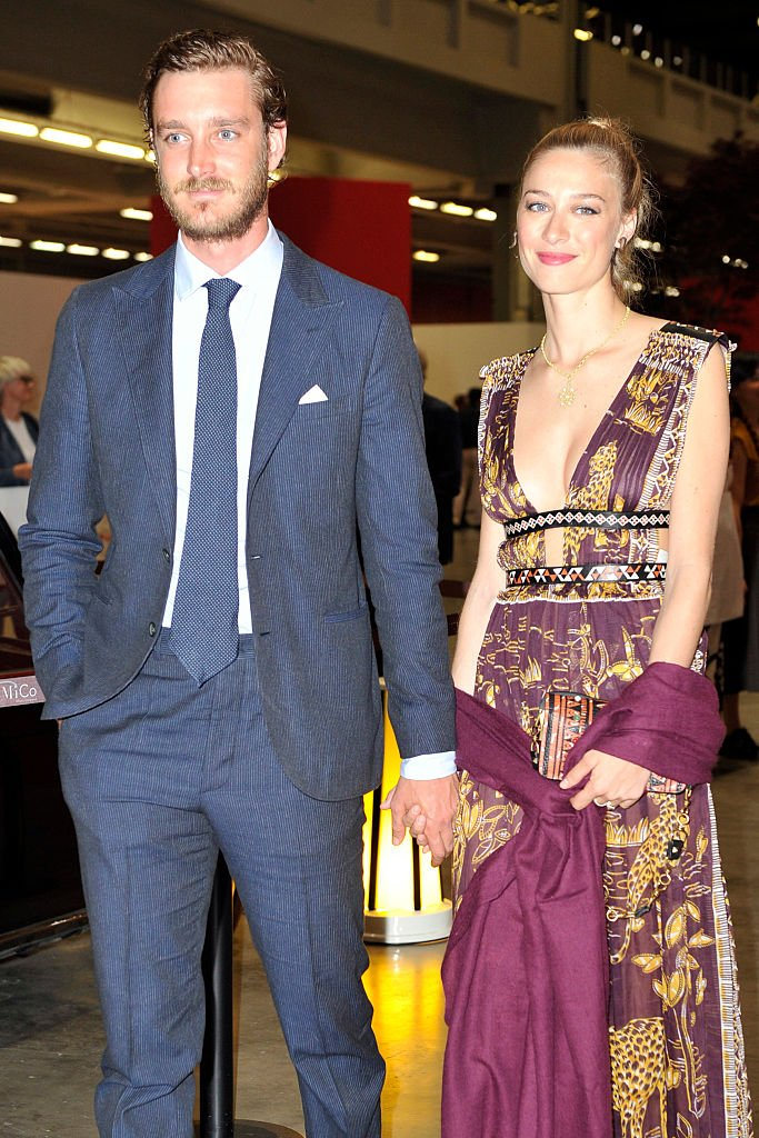 Beatrice Borromeo et son mari Pierre Casiraghi à Convivio en 2016. l Source : Getty Images