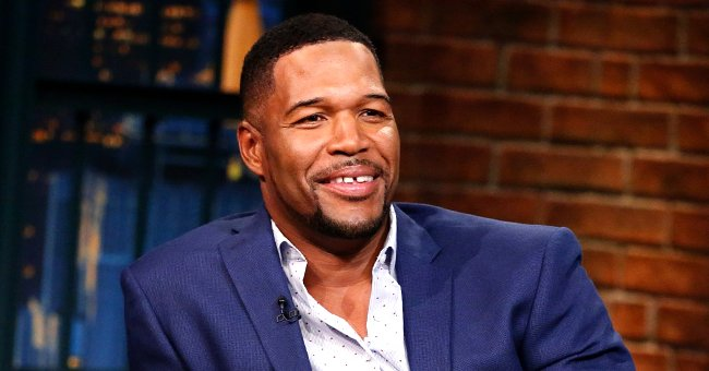 Michael Strahan's Twin Daughter Poses in a Colorful Sweater — Does She Look Tall like Her Dad?