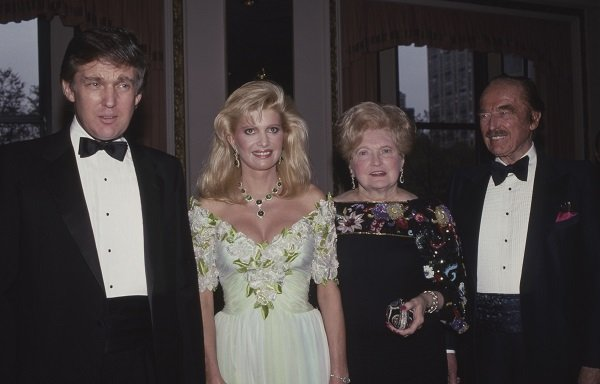 Donald Trump, Ivana Trump, Mary Trump and Fred Trump in May 1987 at The Plaza Hotel in New York City | Source: Getty Images