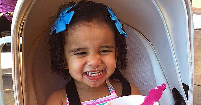 Rob Kardashian's Daughter Dream Adorably Smears Blue Frosting While Eating a Cupcake