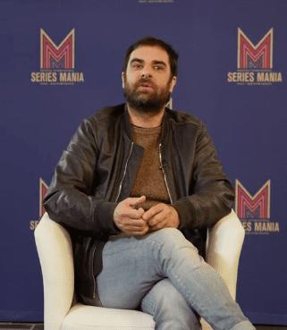 """Grégory Montel lors d'une entrevue sur """"Le Grand Bazar"""".   Youtube/SERIES MANIA"""