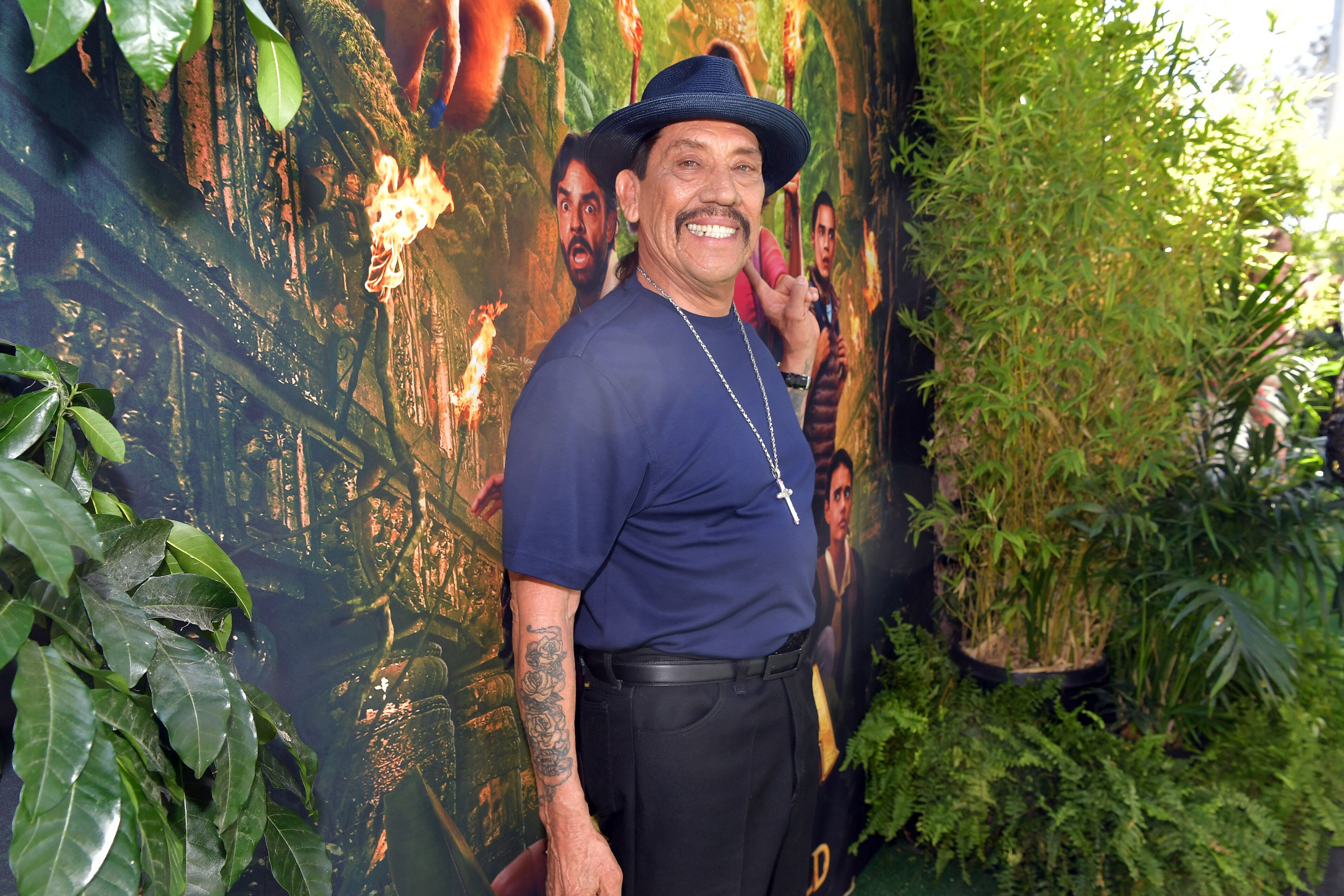 "Danny Trejo attends the LA Premiere of Paramount Pictures' ""Dora And The Lost City Of Gold."" 