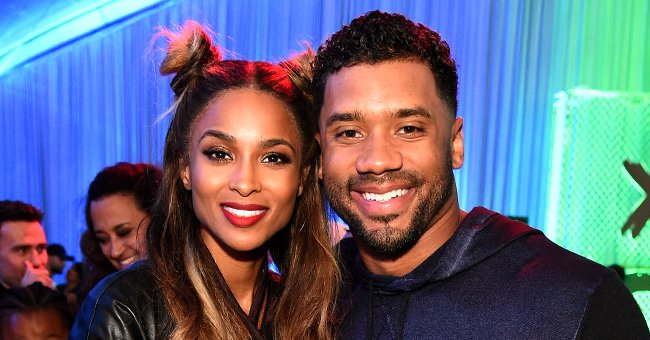 Check Out Ciara & Her Kids Dressed in Seattle Seahawks Jerseys as They Cheer on Russell Wilson