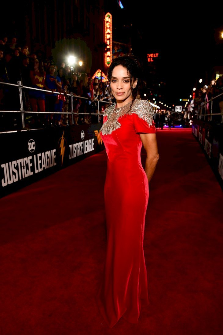 "Lisa Bonet at the premiere of ""Justice League"" in Hollywood, California on Nov. 13, 2017. 
