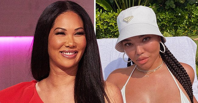 Ming Lee Simmons Looks Sophisticated In a White Hat and Matching Blazer during a New Shoot