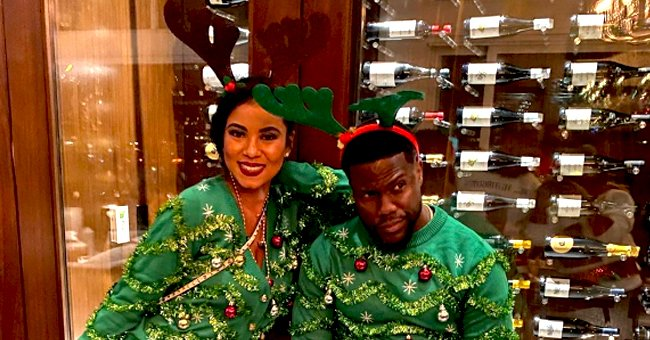 Kevin Hart Is All Smiles in Festive Photos With Wife and Children