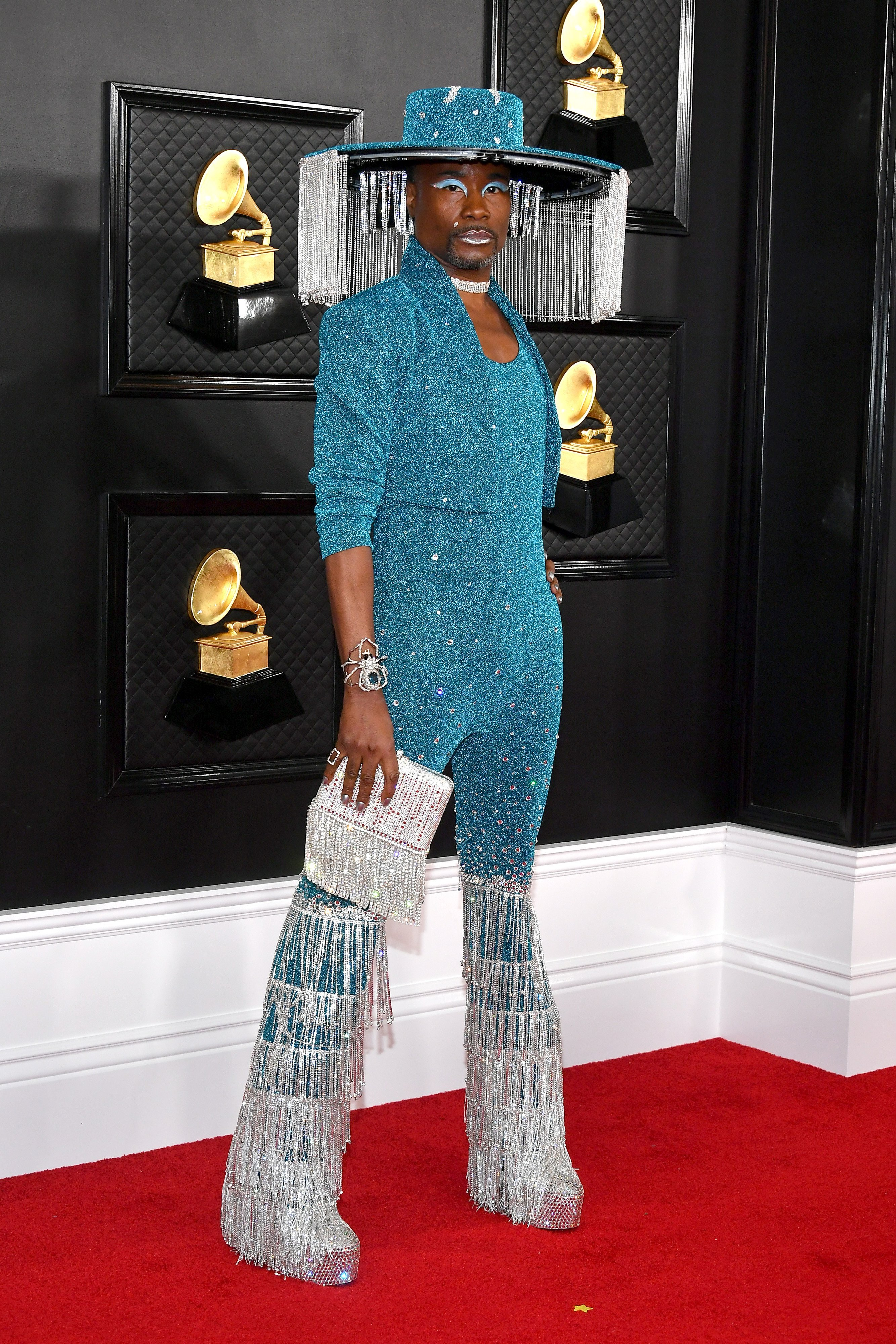 Billy Porter attends the 62nd Annual GRAMMY Awards at Staples Center on January 26, 2020 | Photo GettyImages