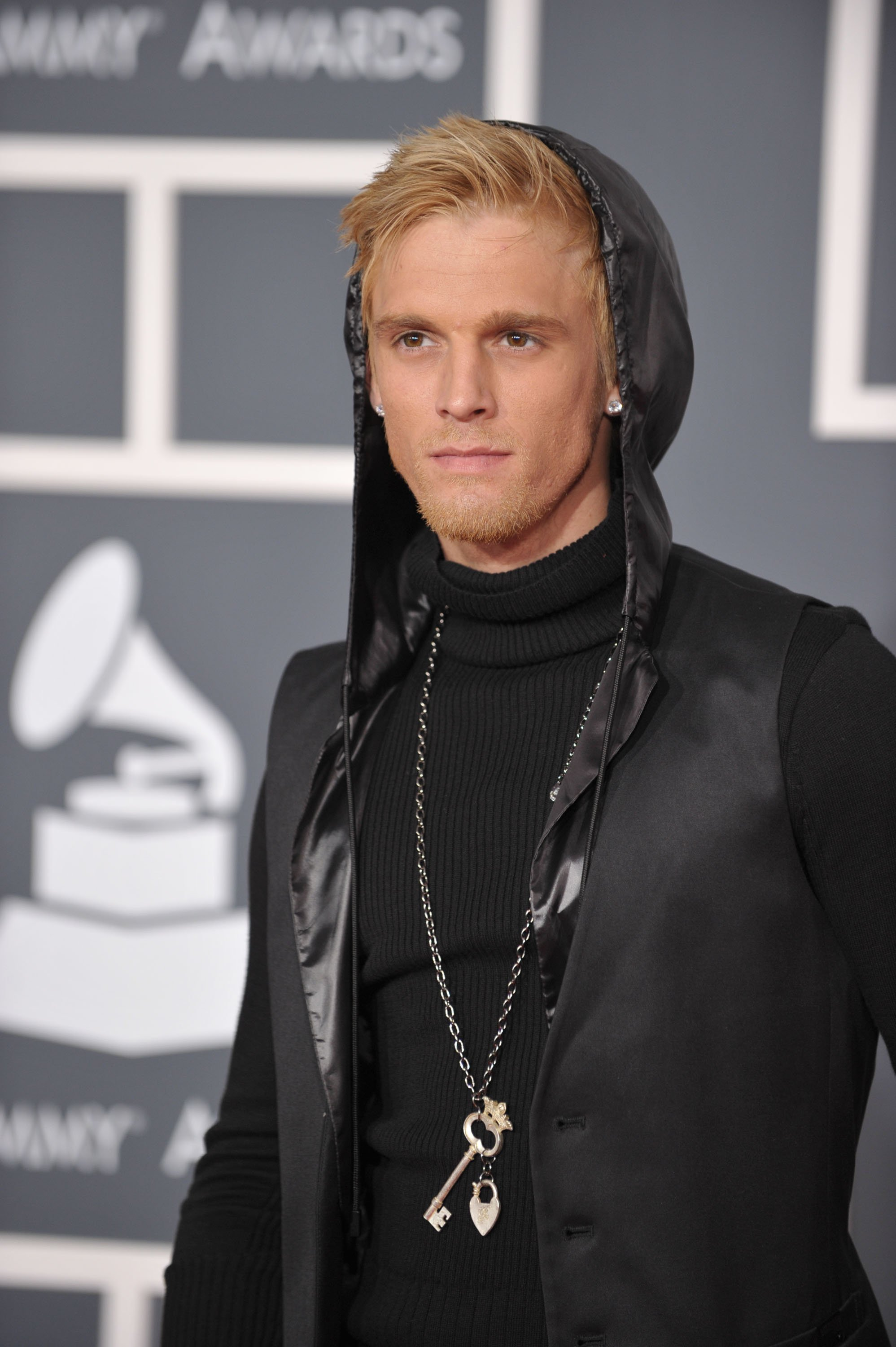 Aaron Carter arrives at the 52nd Annual GRAMMY Awards held at Staples Center on January 31, 2010 in Los Angeles, California. | Photo: GettyImages