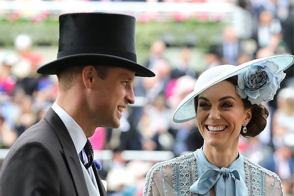 Prince William, Duke of Cambridge and Catherine, Duchess of Cambridge on day one of Royal Ascot at Ascot Racecourse on June 18, 2019, in Ascot, England. | Source: Getty Images.