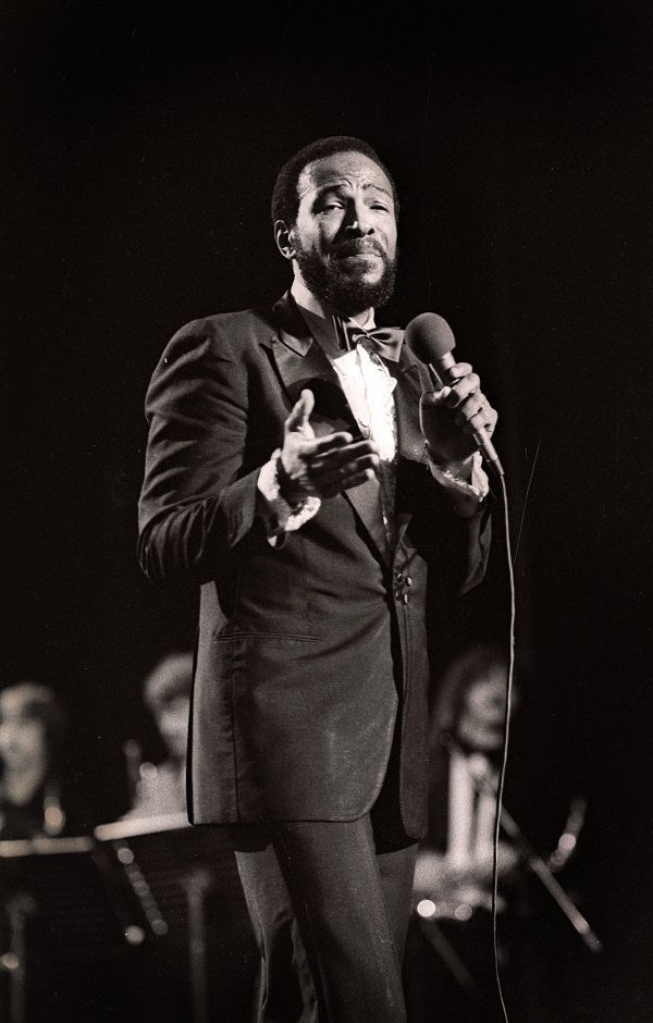 Marvin Gaye at a casino in Oostende, Belgium on July 4, 1981 | Source: Getty Images