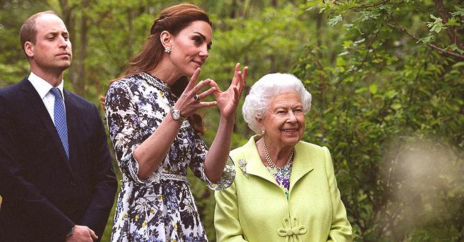 La robe de Kate Middleton à l'évenement du jardin, approuvée par la reine