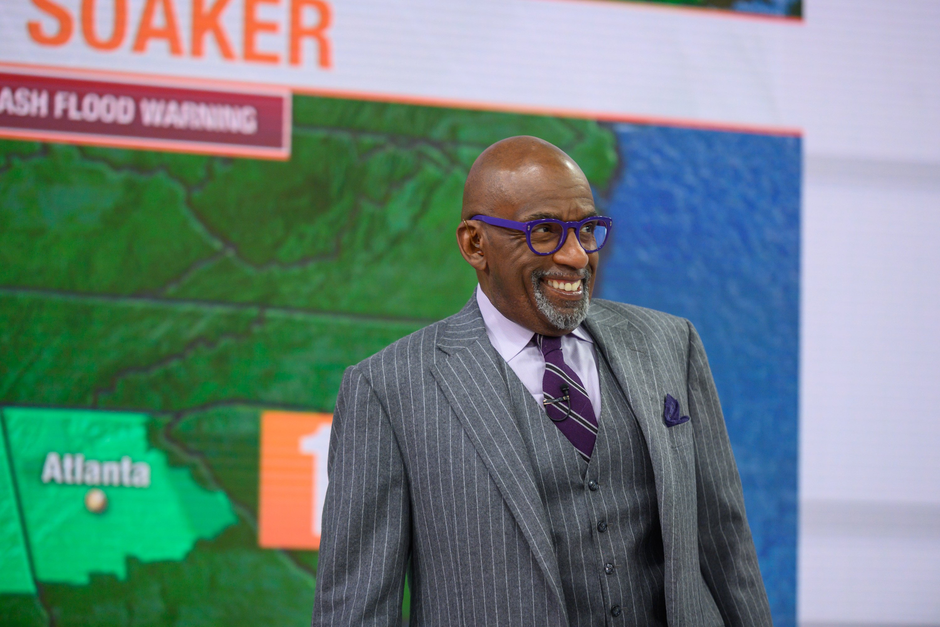 Al Roker pictured on Tuesday, January 14, 2020. | Source: Getty Images.