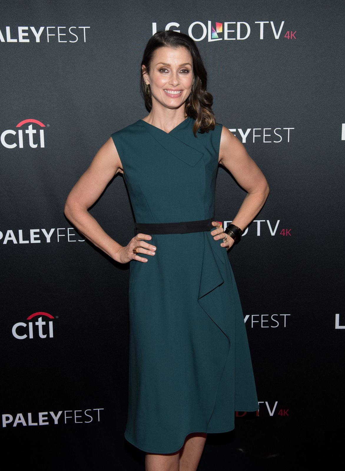 """Bridget Moynahan at the """"Blue Bloods"""" screening during PaleyFest NY at The Paley Center for Media on October 16, 2017, in New York City 