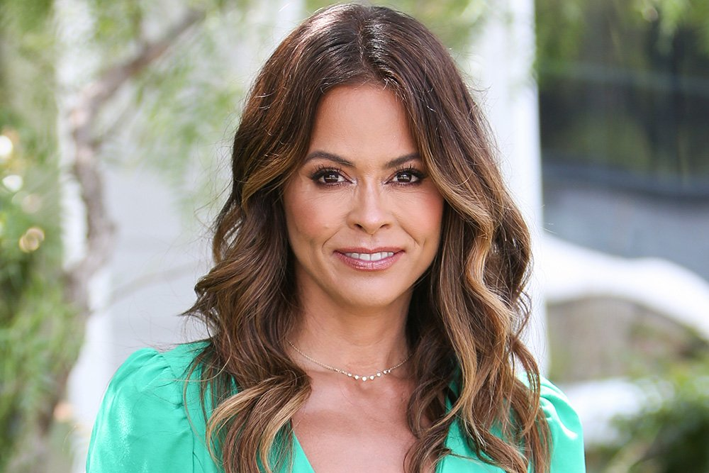 "Brooke Burke visiting Hallmark's ""Home & Family"" at Universal Studios Hollywood in Universal City, California in July 2019. I Image: Getty Images."