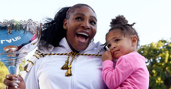 Serena Williams' Daughter Olympia Strikes a Pose with Her Famous Doll Qai Qai in a New Video