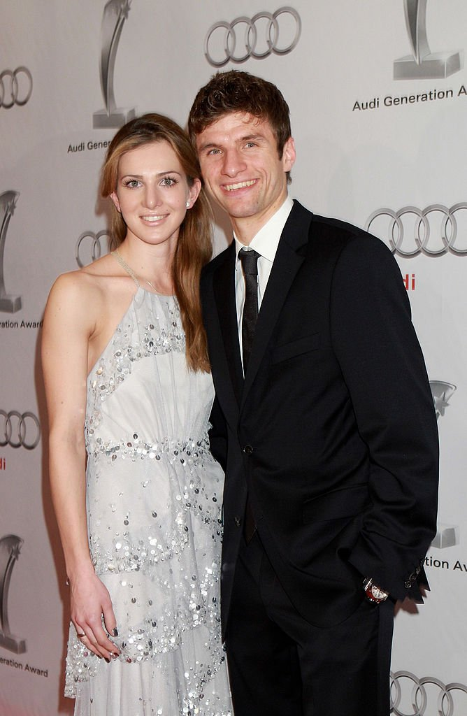 Thomas und Lisa Müller, Audi Generation Award 2010 | Quelle: Getty Images