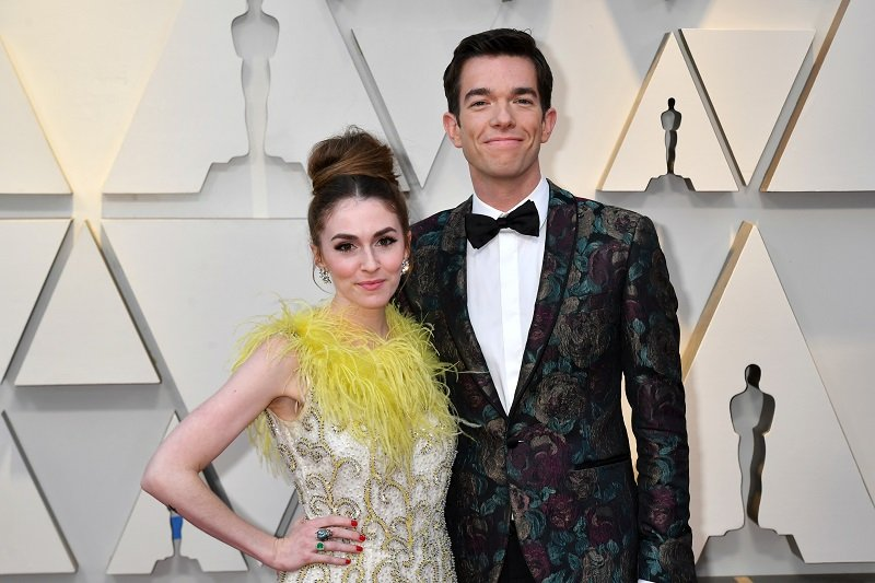 Annamarie Tendler and John Mulaney on February 24, 2019 in Hollywood, California   Photo: Getty Images