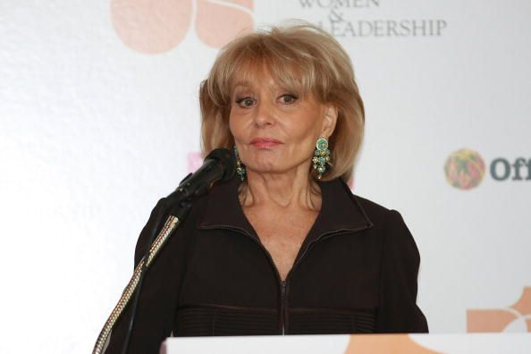 Barbara Walters at the Museum of Natural History Kaufmann Theater on October 7, 2008 in New York City. | Source: Getty Images