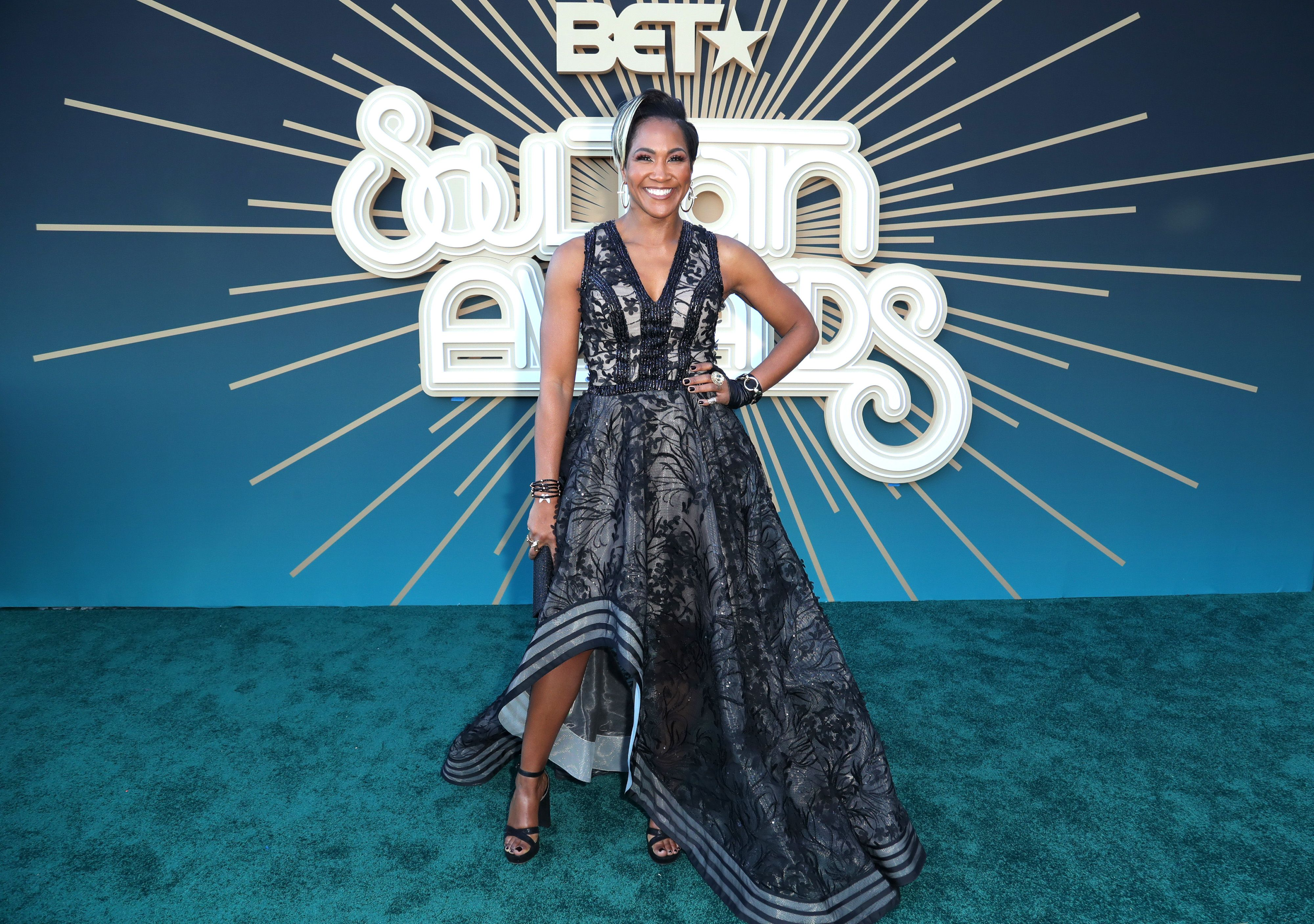 Terri J. Vaughn at the 2019 Soul Train Awards presented by BET at the Orleans Arena on November 17, 2019 | Photo: Getty Images