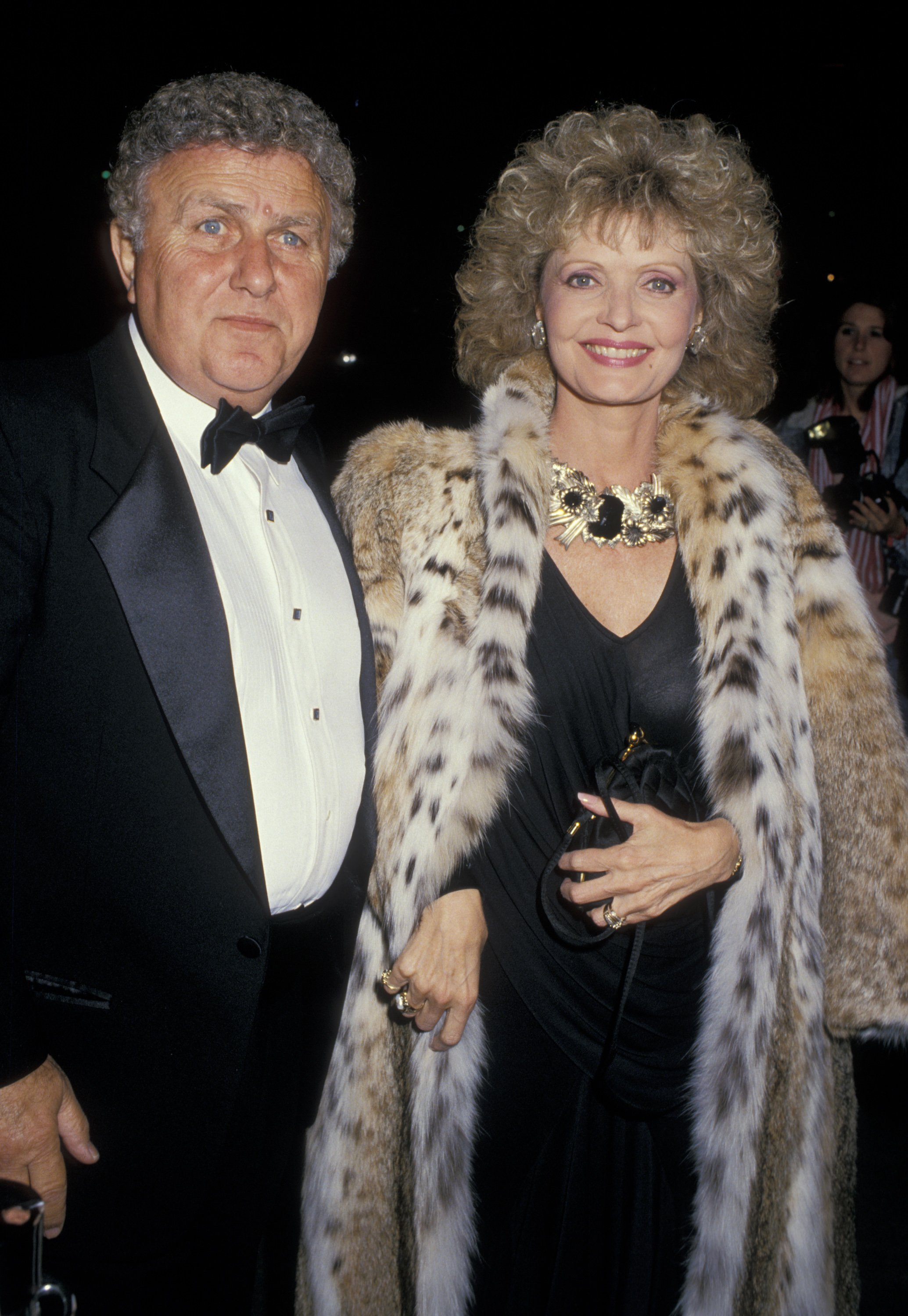 """John Kappas and Florence Henderson at the """"Variety Club International All-Star Party"""" on November 22, 1987, in Burbank, California 