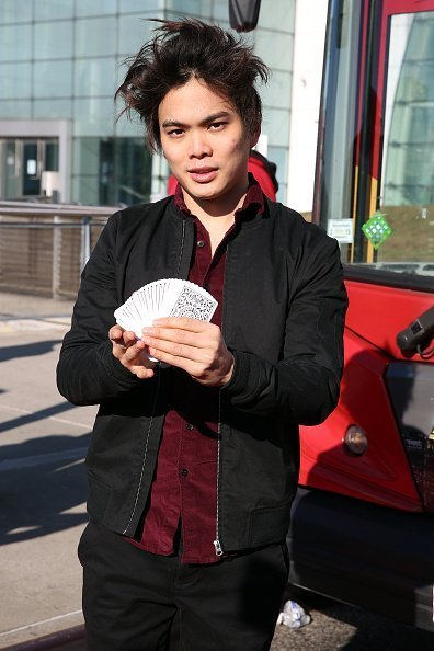 "Shin Lim at the ""Ride Of Fame"" unveiling of his imminent seat, in New York City 