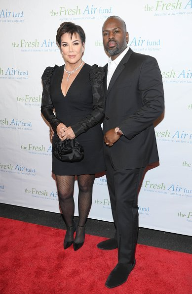 Kris Jenner and Corey Gamble attend The Fresh Air Fund Annual Spring Benefit at The Ziegfeld Ballroom on May 22, 2019, in New York City. | Source: Getty Images.
