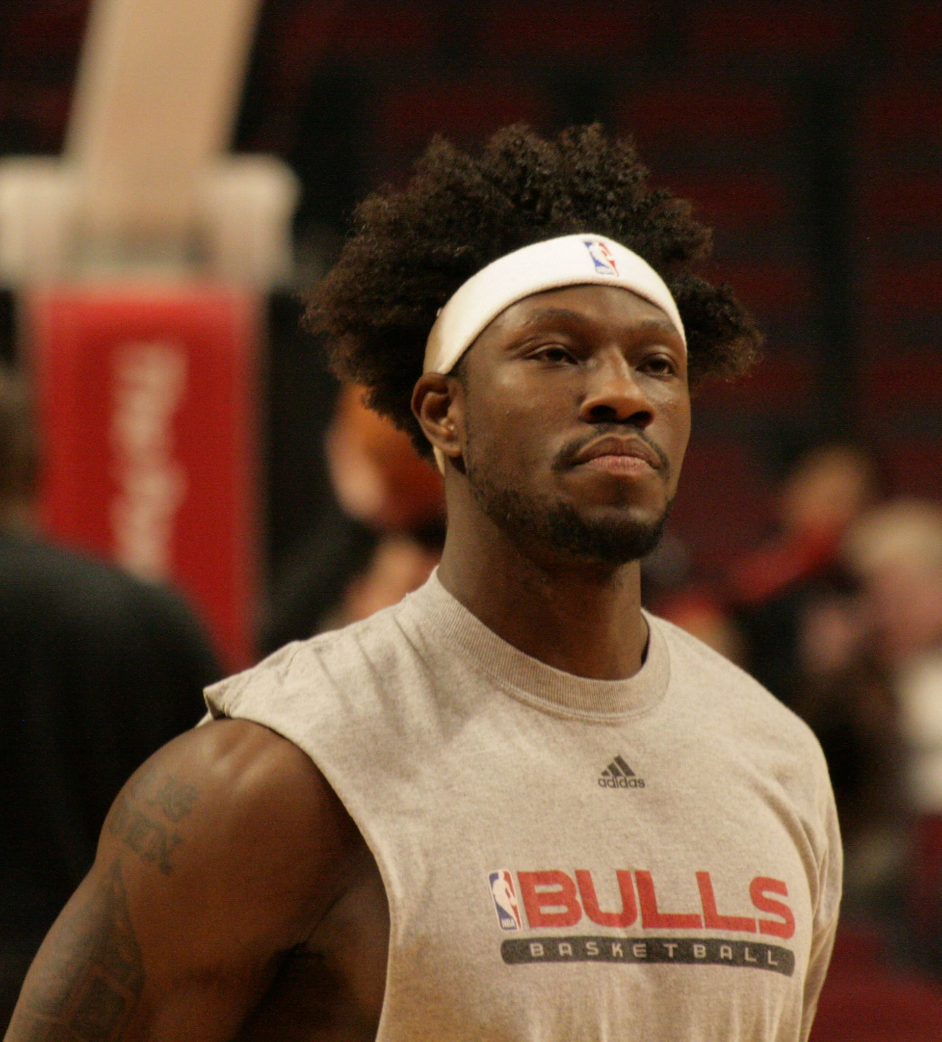 Wallace during his tenure with the Bulls in 2008 | Photo By Jauerback, CC BY-SA 4.0, Wikimedia Commons Images