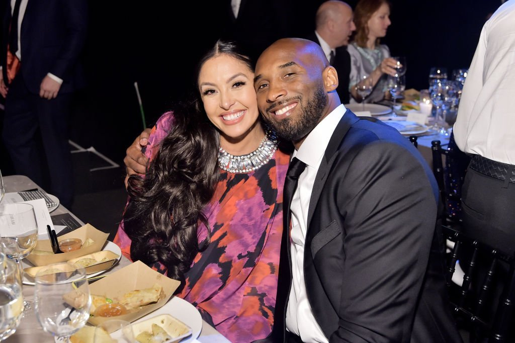 Vanessa and Kobe Bryant attend the 2019 Baby2Baby Gala presented by Paul Mitchell on November 09, 2019. | Photo: Getty Images