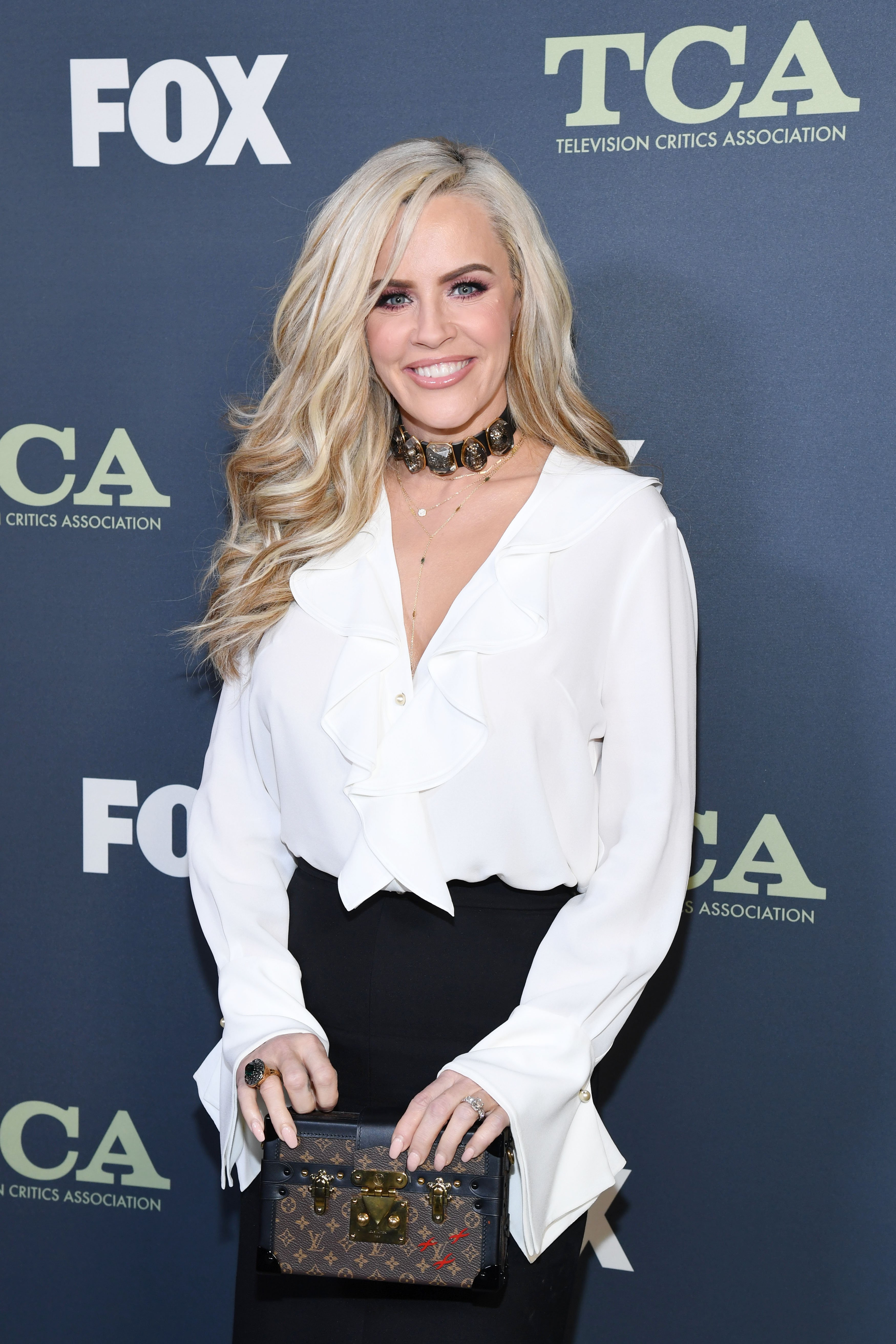 Jenny McCarthy attends the Fox Winter TCA at The Fig House on February 06, 2019, in Los Angeles, California. | Source: Getty Images.