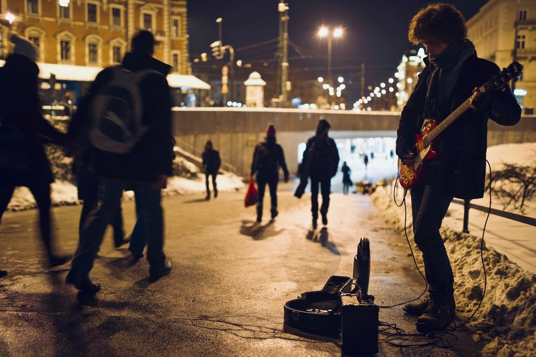 He played on the streets for money | Source: Unsplash