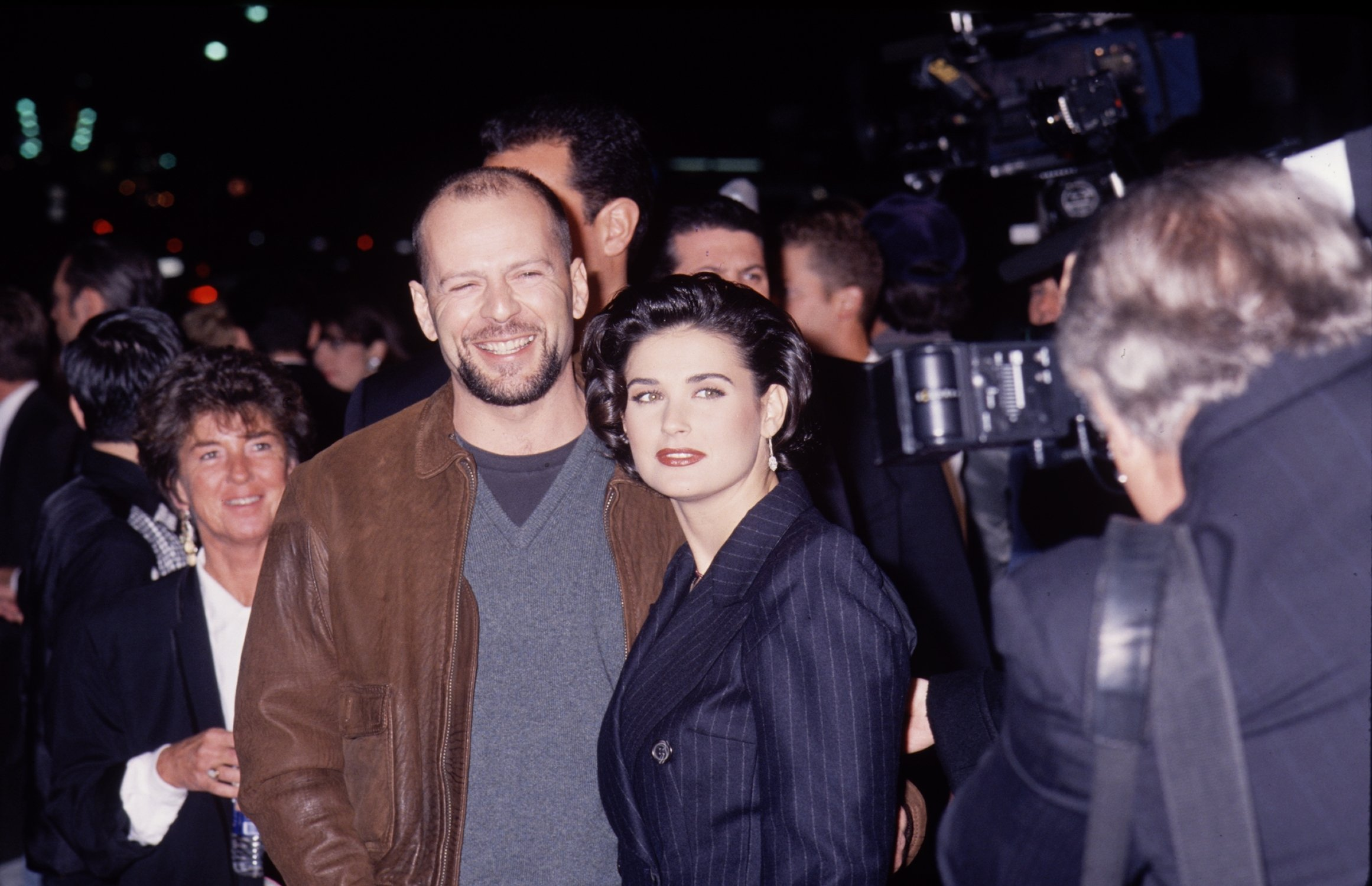 Bruce Willis and Demi Moore pictured together during their relationship. | Photo: Getty Images