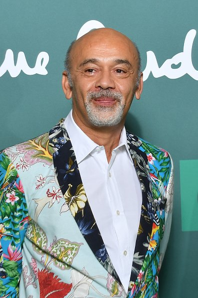 "Christian Louboutin assiste à la projection spéciale ""House Of Cardin"" au Théâtre du Chatelet le 21 septembre 2020 à Paris, France. 