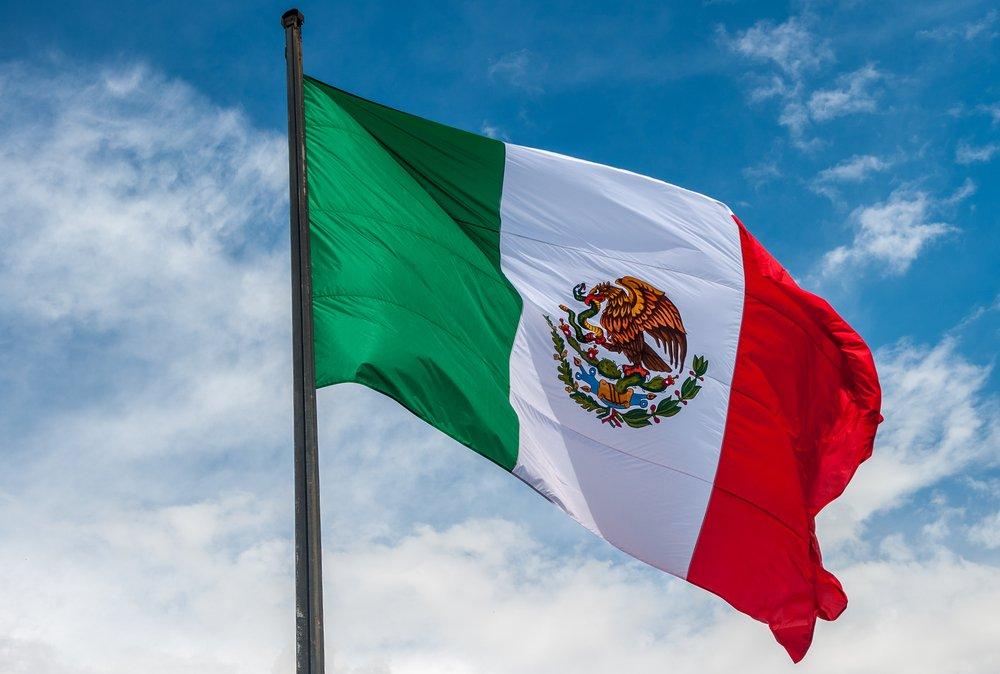 Bandera de México.| Fuente: Shutterstock