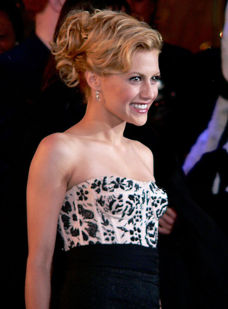 "Brittany Murphy at the London premiere of the animation movie, ""Happy Feet"" in December 2006 