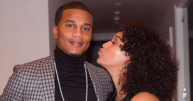 Tia Mowry from 'Sister, Sister' Shared Selfie with Husband Cory Hardrict on a Flight on Valentine's Day