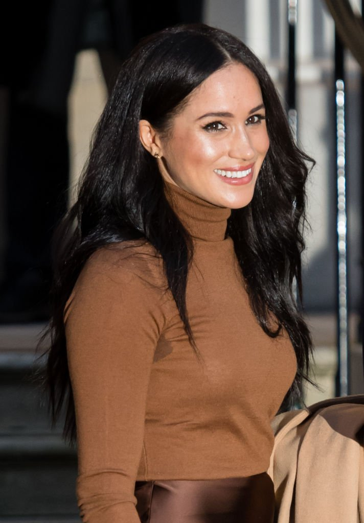 Meghan Markle visits Canada House on January 07, 2020 in London, England.   Photo: Getty Images
