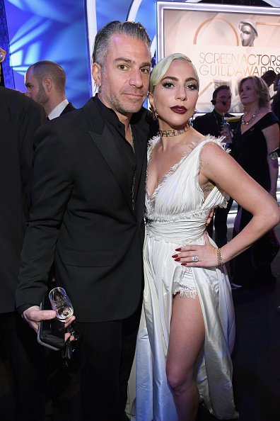 Christian Carino and Lady Gaga at The Shrine Auditorium on January 27, 2019 in Los Angeles, California | Photo: Getty Images
