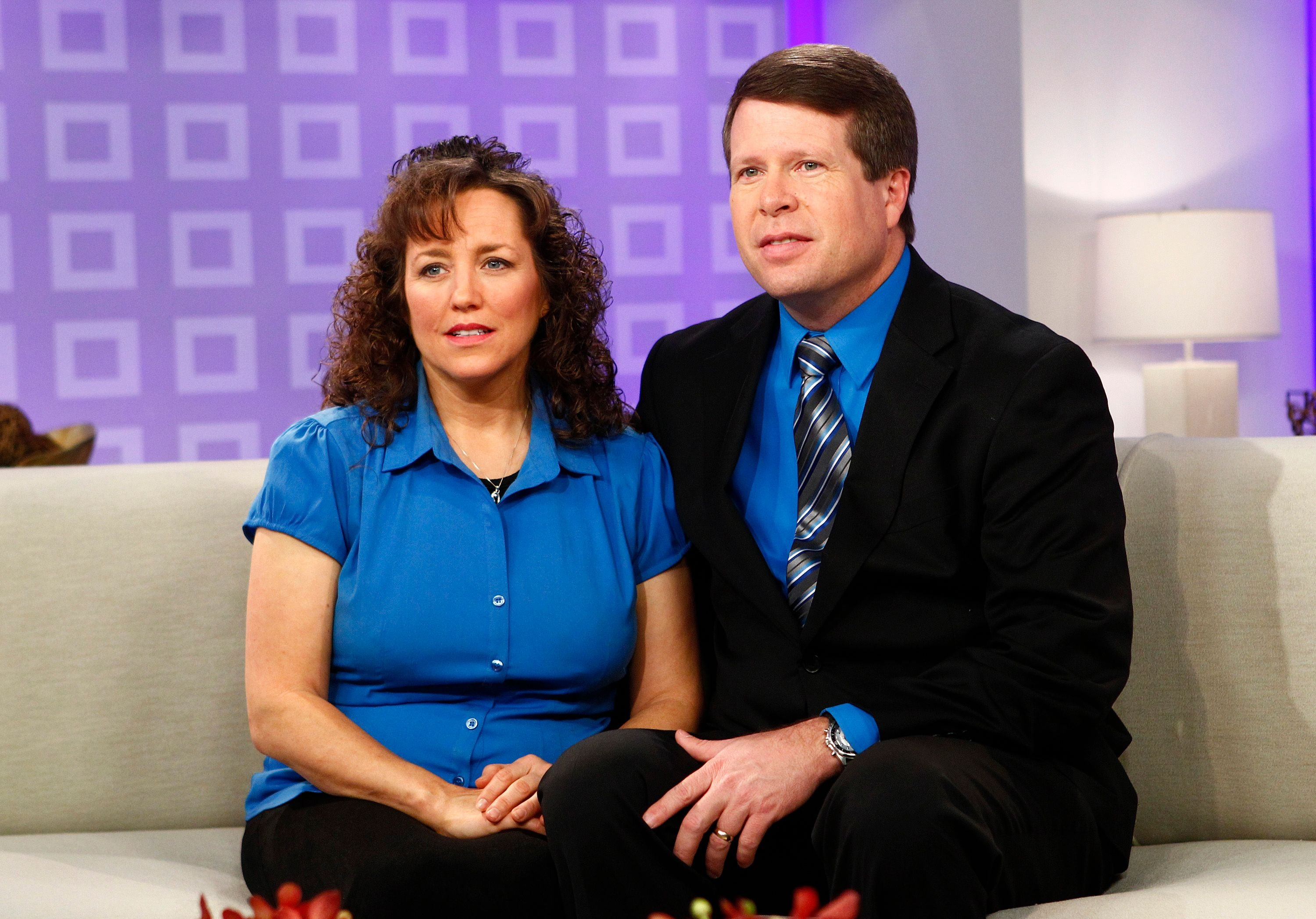 """Michelle and Jim Bob Duggar appear on the """"Today"""" show. Image created on February 14, 2012 