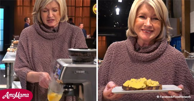 Martha Stewart just put eggs into a coffee machine, and the results are fluffy and delicious